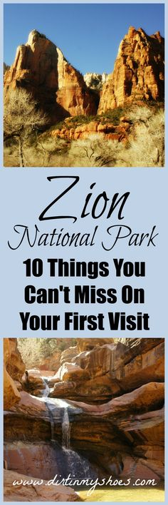 See the best-of-the-best at Zion National Park with this great list of things to do!