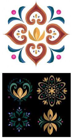 Confira as artes de Brittney Lee para Frozen Disney Concept Art, Art Disney, Frozen Pattern, Brittney Lee, Frozen Art, Scandinavian Folk Art, Oeuvre D'art, Art Blog, Design Elements