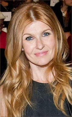 Actress Connie Britton attends the Fall 2013 Monique Lhuillier Runway Show in Feb. in New York.