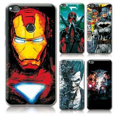 """For Huawei P8 Lite 2017 Phone Cases Cover Charming Marvel Avengers Captain America Deadpool For Huawei P8 Lite 2017 5.2"""" Cover"""