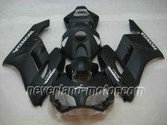 Carenado de ABS de Honda CBR 1000RR 2004-2005 - Negro