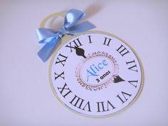 Convite Alice no País das Maravilhas | Balão Azul Conviteria | Elo7