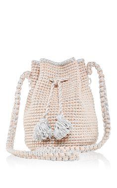 Pink Venice Bucket Back by 7II for Preorder on Moda Operandi