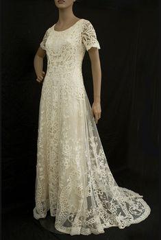 old fashioned wedding dresses | Edwardian Wedding Gowns | The Art Nouveau Bride