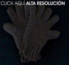Cómo hacer un par de guantes crochet