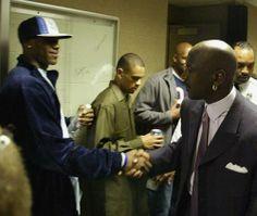 LeBron and MJ