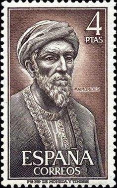 Znaczek: Maimonides (Hiszpania) (Famous people) Mi:ES 1679,Sn:ES 1463,Yt:ES 1446,Edi:ES 1793