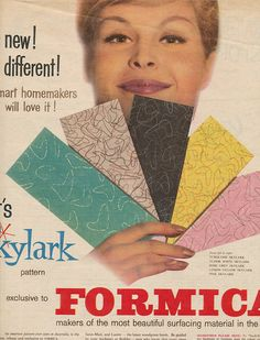 Formica for your kitchen - 1960 Full page ad from The Australian Women's Weekly October 5.