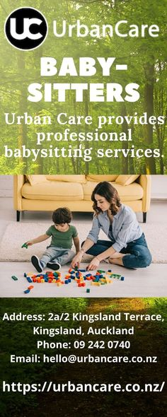 Urban Care provides professional babysitting services.Parents need a little break from their little ones sometimes. And we can help you take the stress from your daily life, take over when you have a sudden travel plan, babysits when you need to attend an event or want to spend time with your partner. Domestic Cleaning Services, Babysitting, Trip Planning, Little Ones, Stress, Travel Plan, Urban, How To Plan, Books