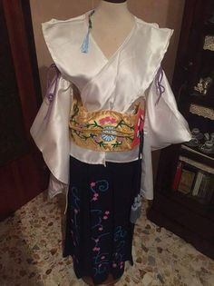 Yuna  Final Fantasy X  Cosplay Costume di FerriseRynerCosplay