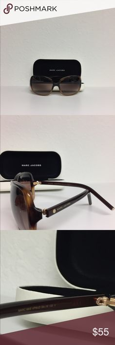 AUTHENTIC MARC JACOBS SUNGLASSES AUTHENTIC Marc Jacobs sunglasses 68/S. Havana. Worn 1X. Case and dust cloth Included. Marc Jacobs Accessories Sunglasses