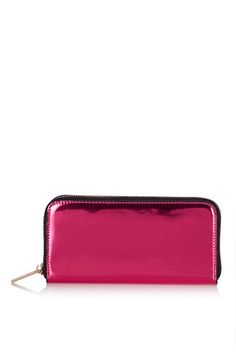 Mirror Zip Around Purse