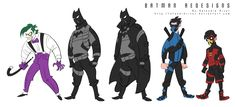 Ha Huy Hoang's Batman Collection!