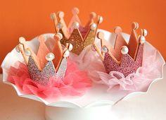 3 pieces Girls Kids Children Baby lace birthday Party Crown Tiara Hair Head Band Hoop Prop16062804