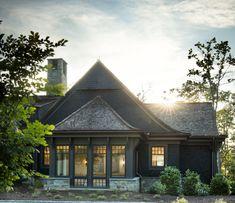 Lake Keowee - Shope Reno Wharton Shingle Style Architecture, Shingle Style Homes, Architecture Details, Pavilion Architecture, Japanese Architecture, Sustainable Architecture, Residential Architecture, Contemporary Architecture, Exterior Siding