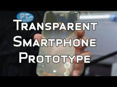 Transparent Smartphone Prototype by Polytron