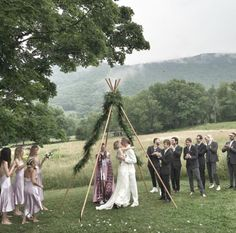 Le mariage d'Hanne Gaby Odiele et John Yawn