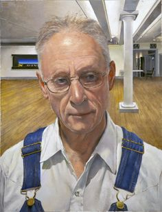 Neil Jenney, self portrait.Neil Jenney is a self-taught artist born in 1945. Lives in NYC.