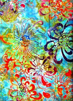 green batik ,Robert Kauffman