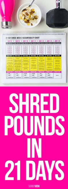 Shed the extra pounds in three weeks!