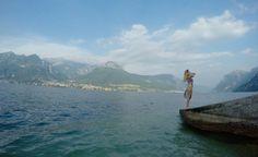 ¿Celosa yo? #Mujer #Celos #Lago #Italia #Paraiso