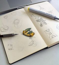 sketch2 com marcador copic. por Dani Aquino