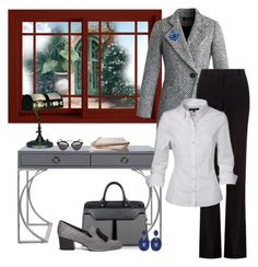 """""""Buisness Meeting ll"""" by kim-mcculley ❤ liked on Polyvore featuring Chicwish, Alexander McQueen, Worlds Away, Aznom, Stuart Weitzman, Dale Tiffany, Christian Dior, Silvia Furmanovich and holdontothatbag"""