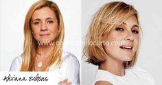 Transformação da Adriana Esteves  #shorthair #cabeloscurtos #hairstyle #hair #cabelos #mulheres #cortesdecabelocurto #shorthaircut
