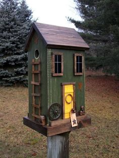 Beautiful Bird House Designs You Will Fall in Love with (25)