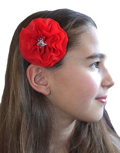 Funny Girl Designs Michaela Collection Chiffon Flower Hair Clip >>> This is an Amazon Affiliate link. You can find more details by visiting the image link.