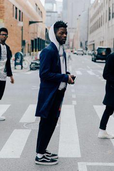 The Best Street Style from New York Fashion Week: Men's #BestMensFashion