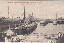 LATCHFORD LOCKS, MANCHESTER SHIP CANAL, WARRINGTON (ref 6527/14N