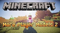 More Player Models 2 Mod for Minecraft 1.8.8/1.8/1.7.10 -  In Minecraft, characters have been created differently. Players just pick character's skin following to their choice and design how they will look like, unless on some specific servers, skins will be disabled. More Player Models 2 mod is a new version of the first More Player Models mod. It a... #Minecraft1710Mods, #MINECRAFT18MODS, #MINECRAFT188MODS, #NoppesSMods -  #MinecraftMods