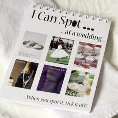 I spy wedding book for kids:  The Wedding of My Dreams - I Can Spot at a Wedding Children's Wedding Activity Book  #wedding