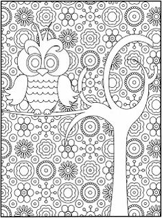 Intricate Color Pages for kids put in a binder with protective sheet with dry erase use again