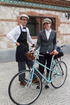 Mecanico oficial de la Tweed Ride Madrid 2013