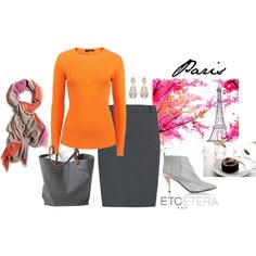 """Etcetera: Paris autumn."" by etcetera-nyc on Polyvore"