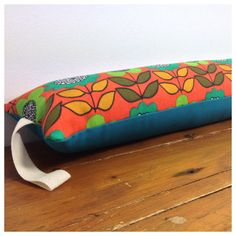 Draught Excluder Handmade From Vintage  60/70s Flower by Retro68, £12.50