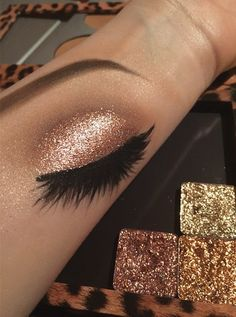 #makeupart #makeup #glitter
