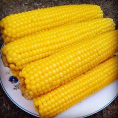 Boiled Corn, Yellow Foods, Farm Life, My Photos, Vegetables, Eat, Instagram, Vegetable Recipes, Veggies