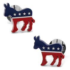 Stainless Steel Democratic Donkey - DaVinci Emporium
