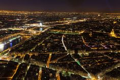 Paris, France | 16 Aerial Photographs That Will Change Your Perspective Of The World | Azamara Club Cruises
