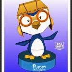 Pororo The Penguin Free Papercraft Download