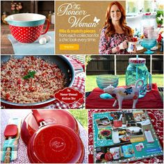 The Pioneer Woman's - NEW Kitchen Collection: dinnerware, cookware, bakeware, serveware, cast iron pieces, kitchen tools, and more + Ree's Mexican Rice. #wmtmoms #sponsored #thepioneerwoman @walmart