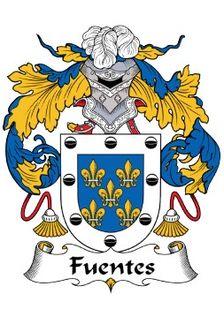 Fuentes family crest