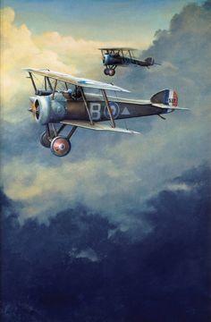 """""""Yanks at dawn"""" - Original oil painting by John Hume."""