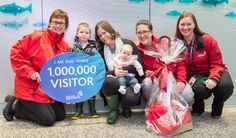 Vancouver Aquarium Welcomes One Millionth Visitor in 2014
