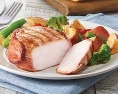 SCHWAN'S BUTCHER'S CUT™ Pork Tenderloin Filet Wrapped with Applewood-Smoked Bacon and other delicious groceries delivered to your door. #Schwans #FoodDelivery #Pork