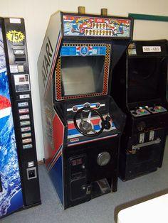 Pole Position Arcade Game, via Flickr.