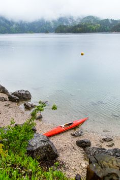 Travel - Eibsee in Bavaria, Germany #mystery #boat #lake #bavaria